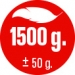 A01i HMOTNOST 1.500 g
