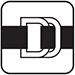 B08a Zapínání na bezpečnostní D-kroužek