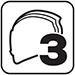B12c Tři velikosti skořepiny