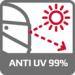 Ochrana proti UV záření 99%
