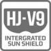 Sluneční clona HJ-V9