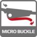 Zapínání na bezpečnostní mikro přezku