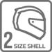 B12b Dvě velikosti skořepiny